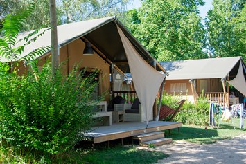 Glampingunterkunft: Villatent Luxe auf Camping Le Coin Tranquille