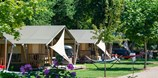 Luxuscamping - Villatent - Villatent Luxe auf Camping Chateau l'Eperviere
