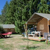 Luxuscamping: Villatent Luxe auf Camping le Vaubarlet