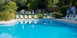 Luxuscamping - Swimmingpool - Bergerac - Villatent Luxe auf Camping Lestaubiere