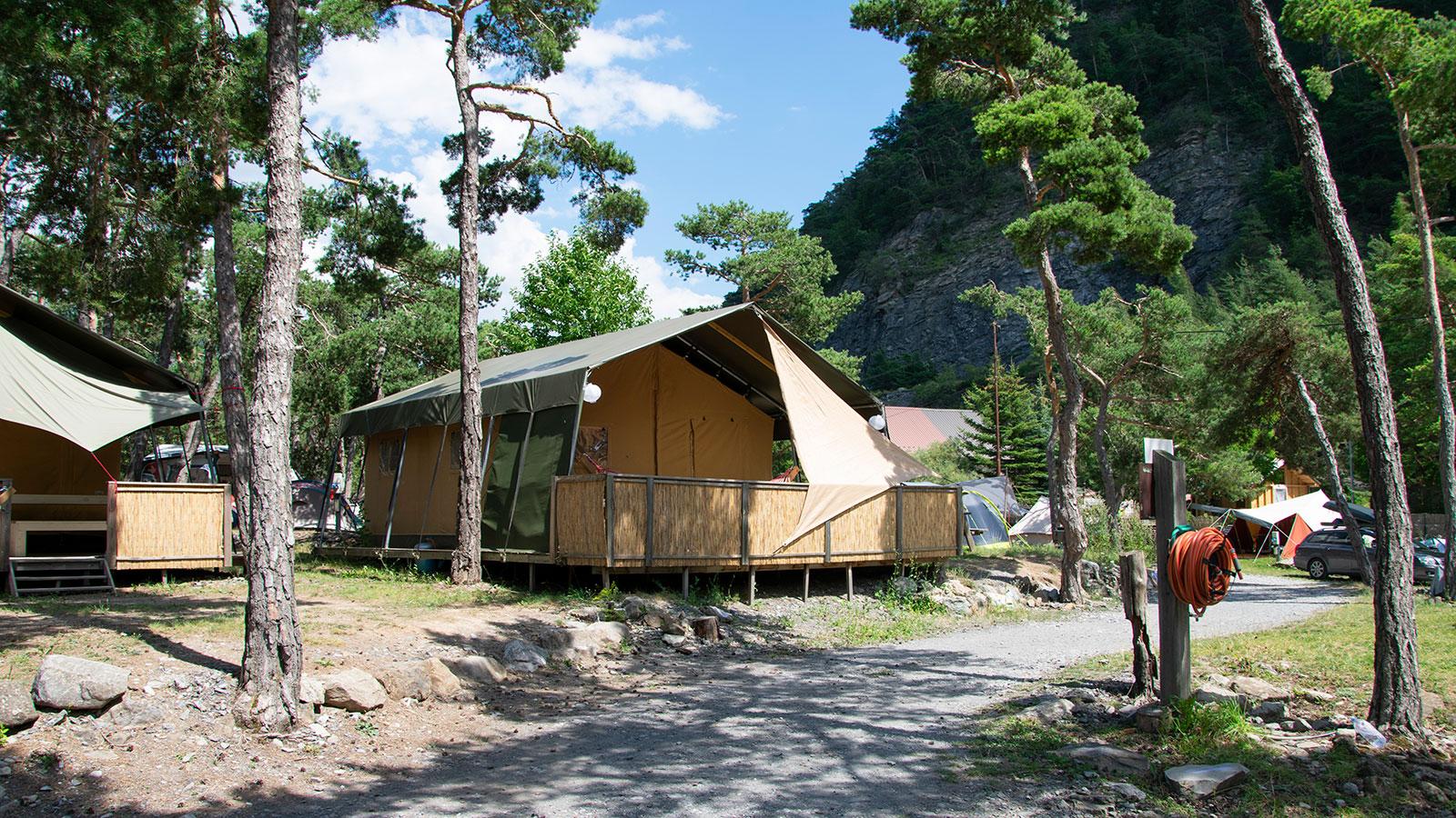 8 Glamping Unterkünfte mit Art der Unterkunft: Safari Zelt