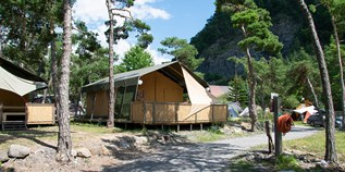 Luxuscamping - Alpes de Haute Provence - Villatent Luxe auf Camping River